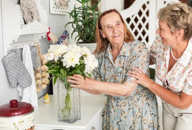 Atención al cuidado de mayores